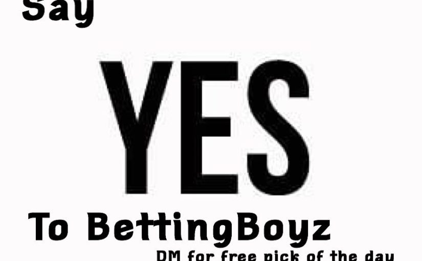 Join the winning team. Dm for our free choice of day ….. #Bettingboyz #foxspo …
