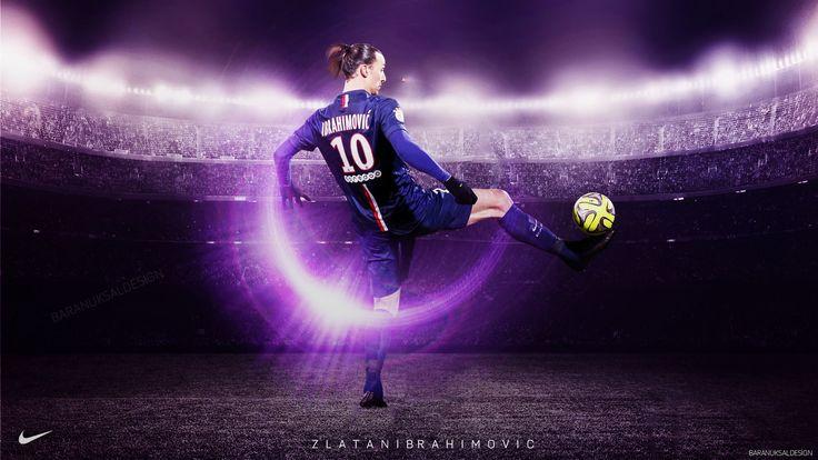 วอลล์เปเปอร์ Zlatan Ibrahimovic PSG