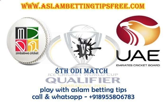รับสหรัฐอาหรับเอมิเรตส์ vs ซิมบับเว Super Sixers 8. การคาดการณ์ข้อมูลการแข่งขัน ODI และ C …
