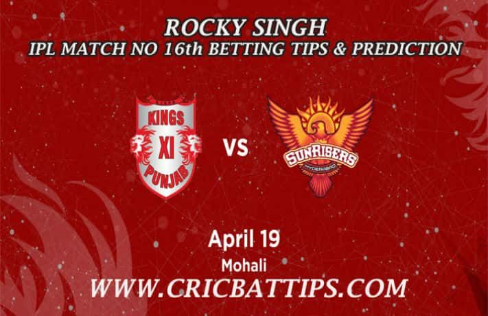 เราขอเสนอ Kings XI Punjab กับ Sunrisers Hyderabad 16. IPL Tips & Predic …