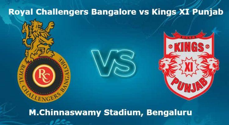 เรียนรู้ Royal Challengers Bangalore vs Kings XI Punjab 8. T20 IPL เคล็ดลับการเดิมพัน …