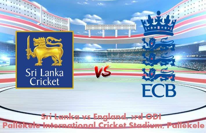 เราเสนอศรีลังกา vs อังกฤษ 3. เคล็ดลับการเดิมพัน ODI ฟรีและวันนี้ตรงกับทำนาย …