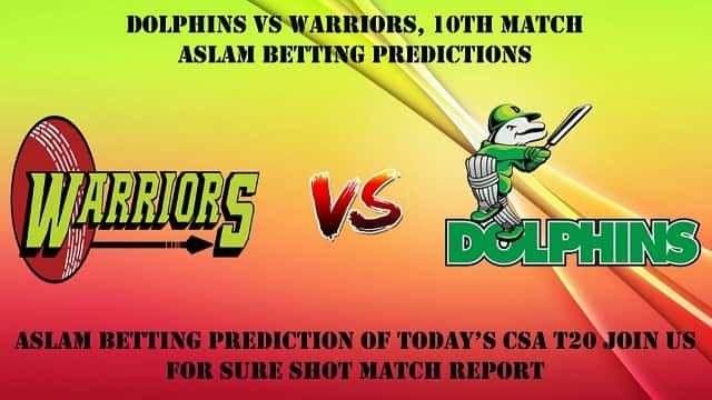 รับ Dolphins vs Warriors 10 เคล็ดลับการทายผลการแข่งขัน T20 และการเดิมพันคริกเก็ตบน …